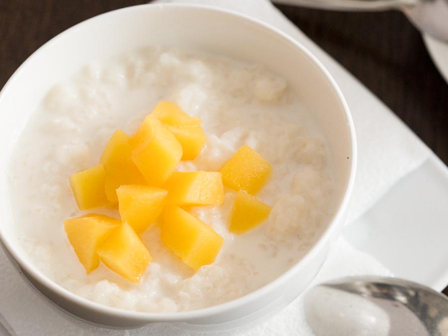 Каша рисовая с кокосом