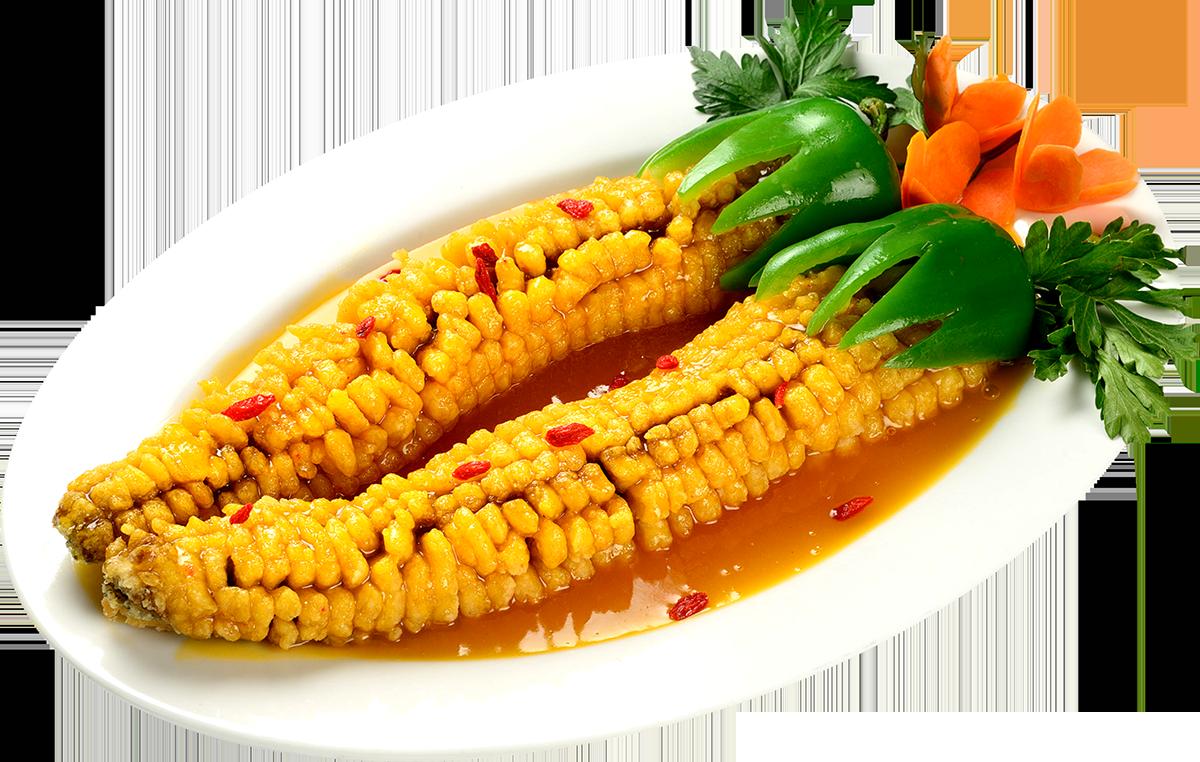 Карп Кукуруза в апельсиновом соусе