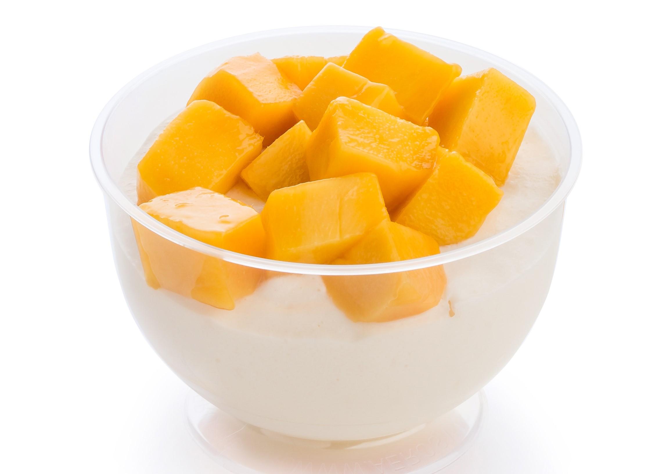 Мусс с манго