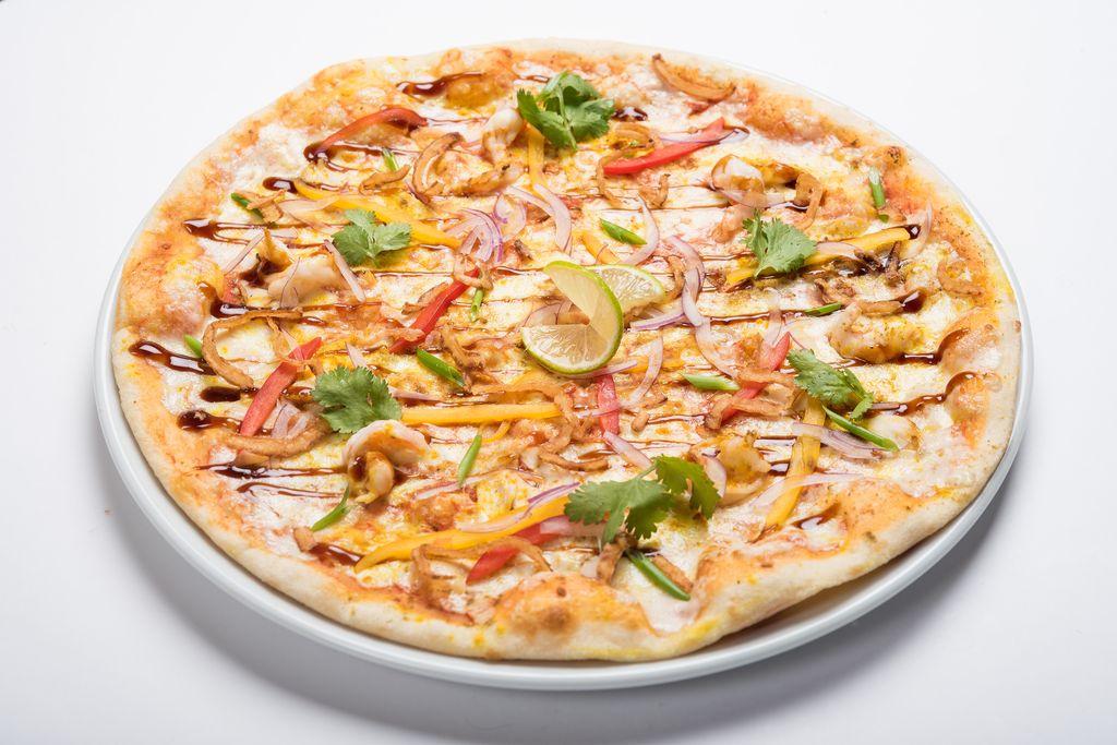Сингапурская пицца