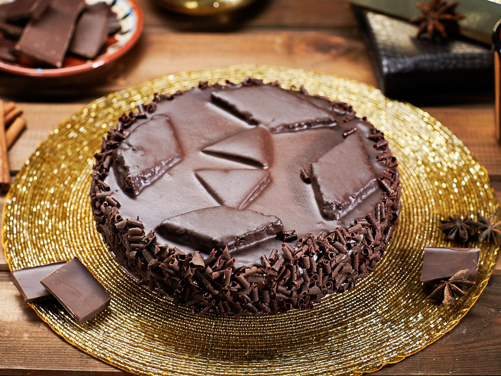 Торт Тройной Шоколад