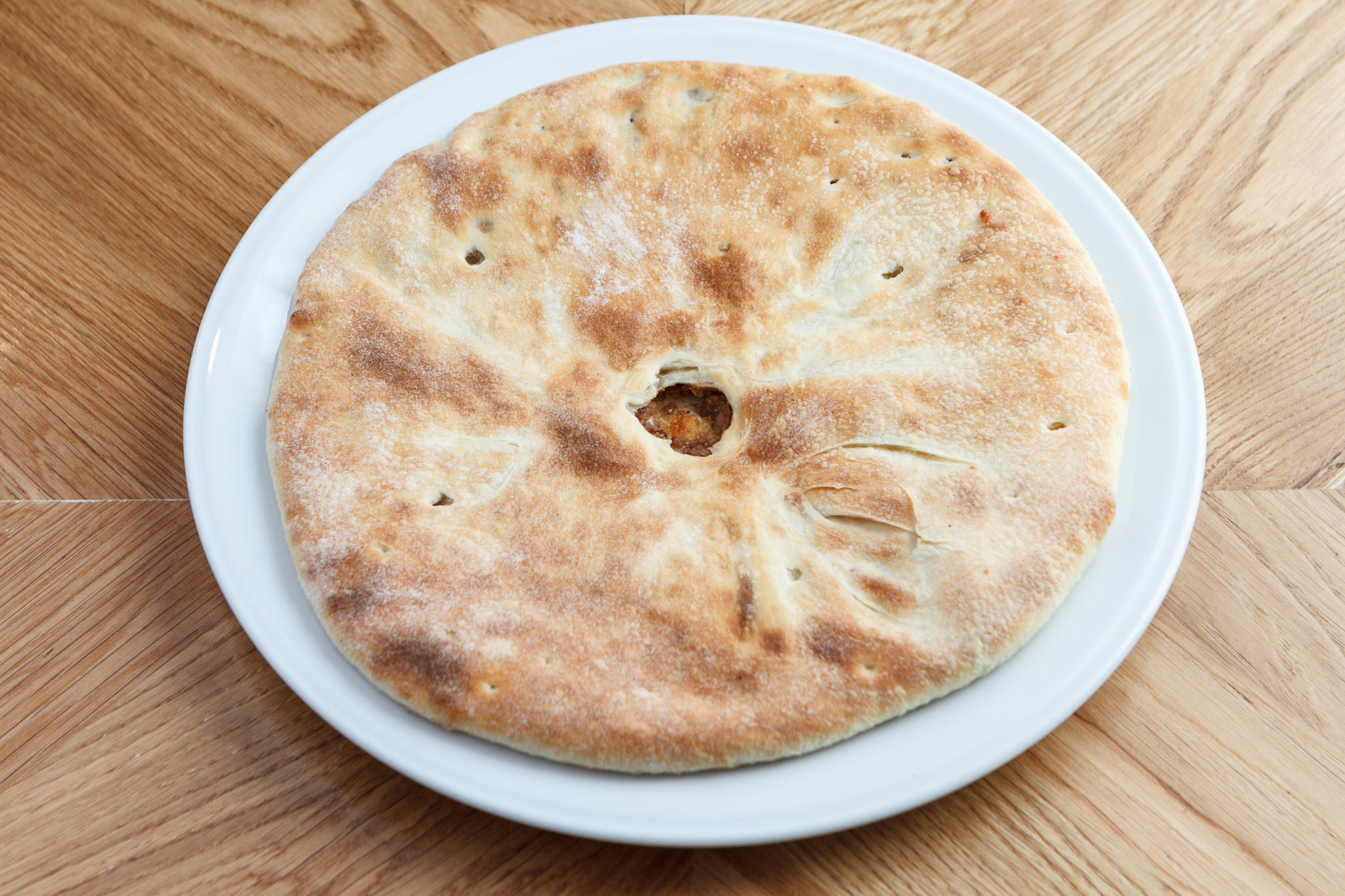 Лобиани-хачапури с красной фасолью