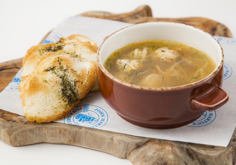 Домашний суп с цыпленком