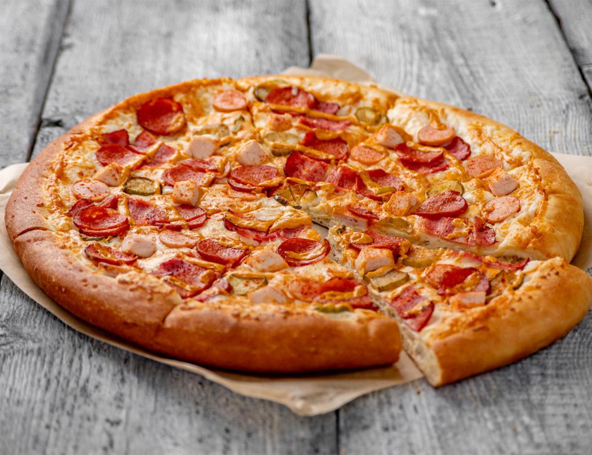 Пицца Мясная гриль