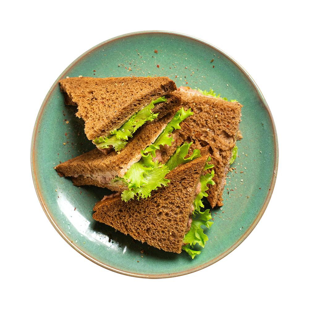 Клаб сэндвич с куриным паштетом