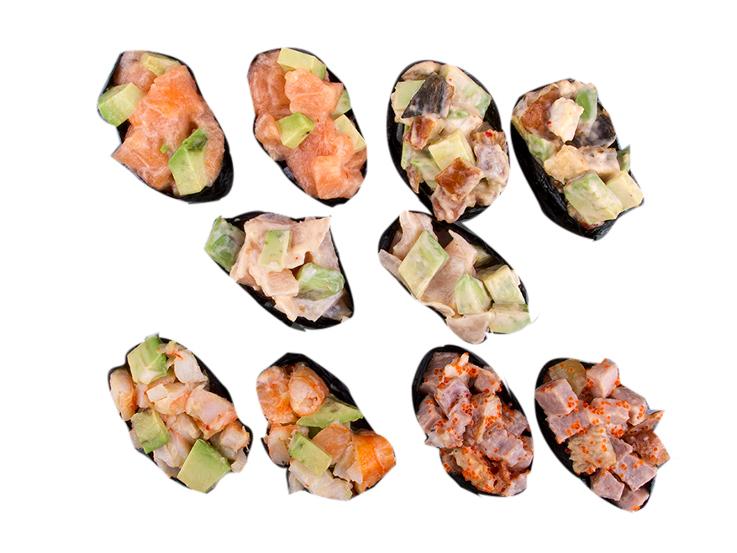 Спайси суши сет