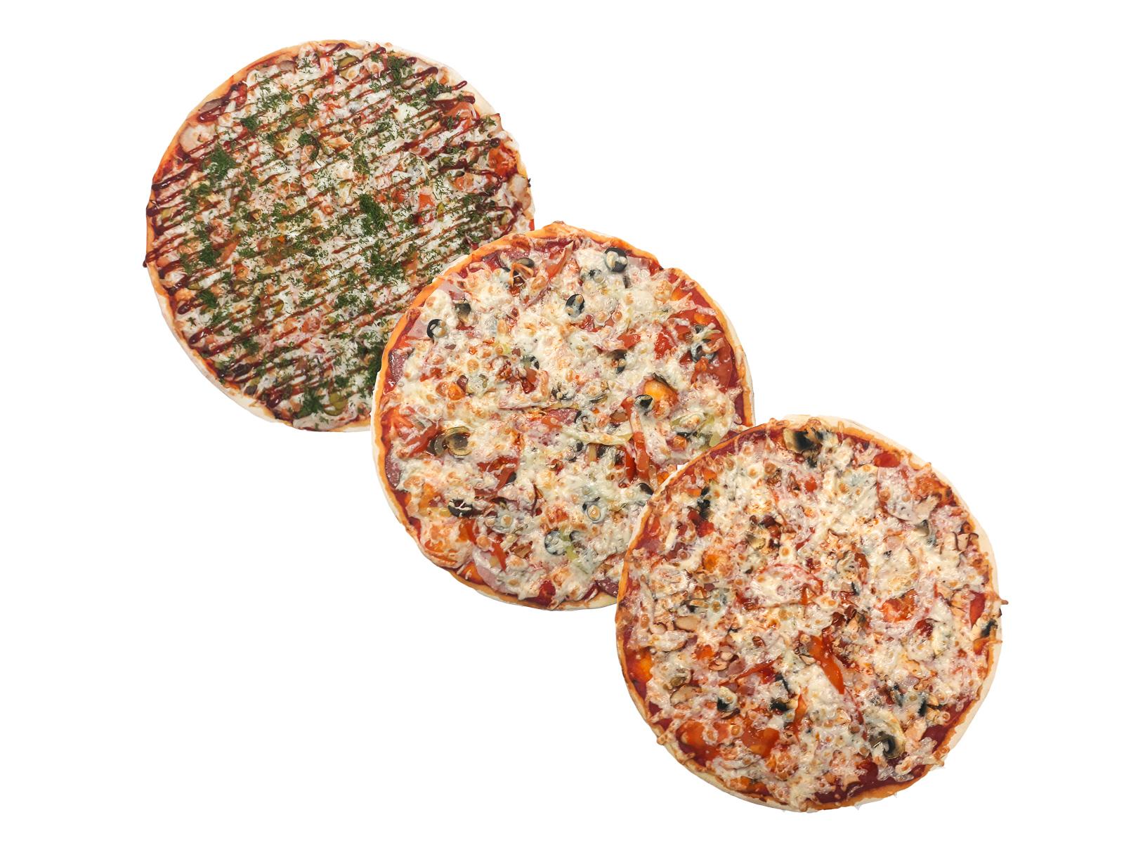 Сет из трех пицц  №2