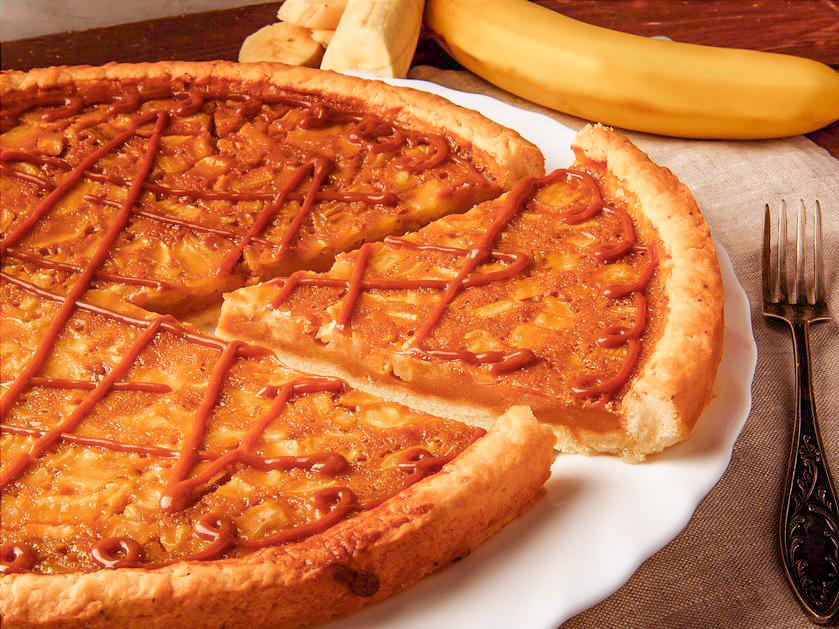 Пирог Карамельный бананище