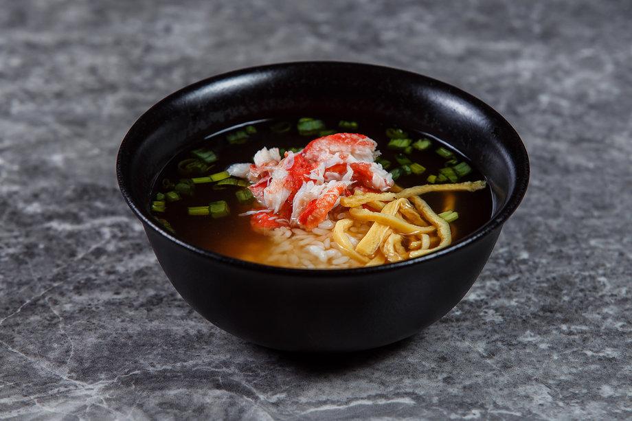 Рисовый суймоно с мясом краба