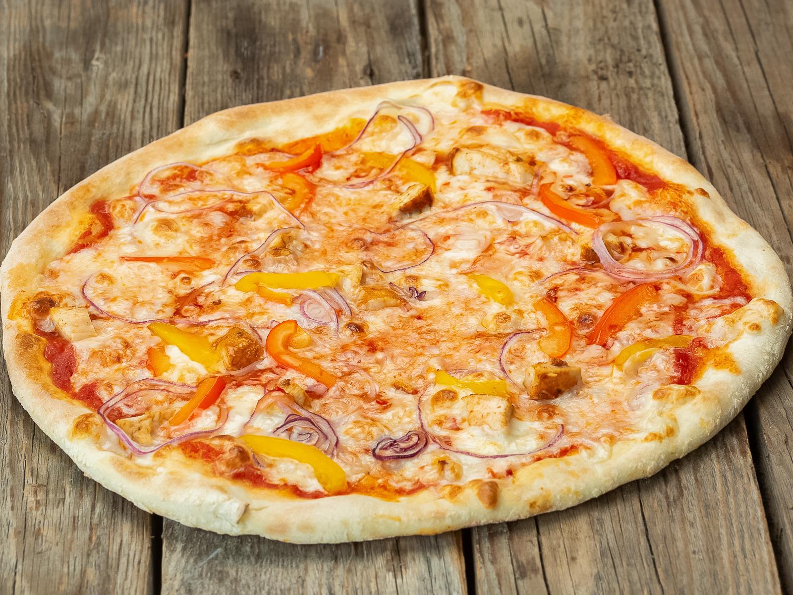 Пицца Тайская