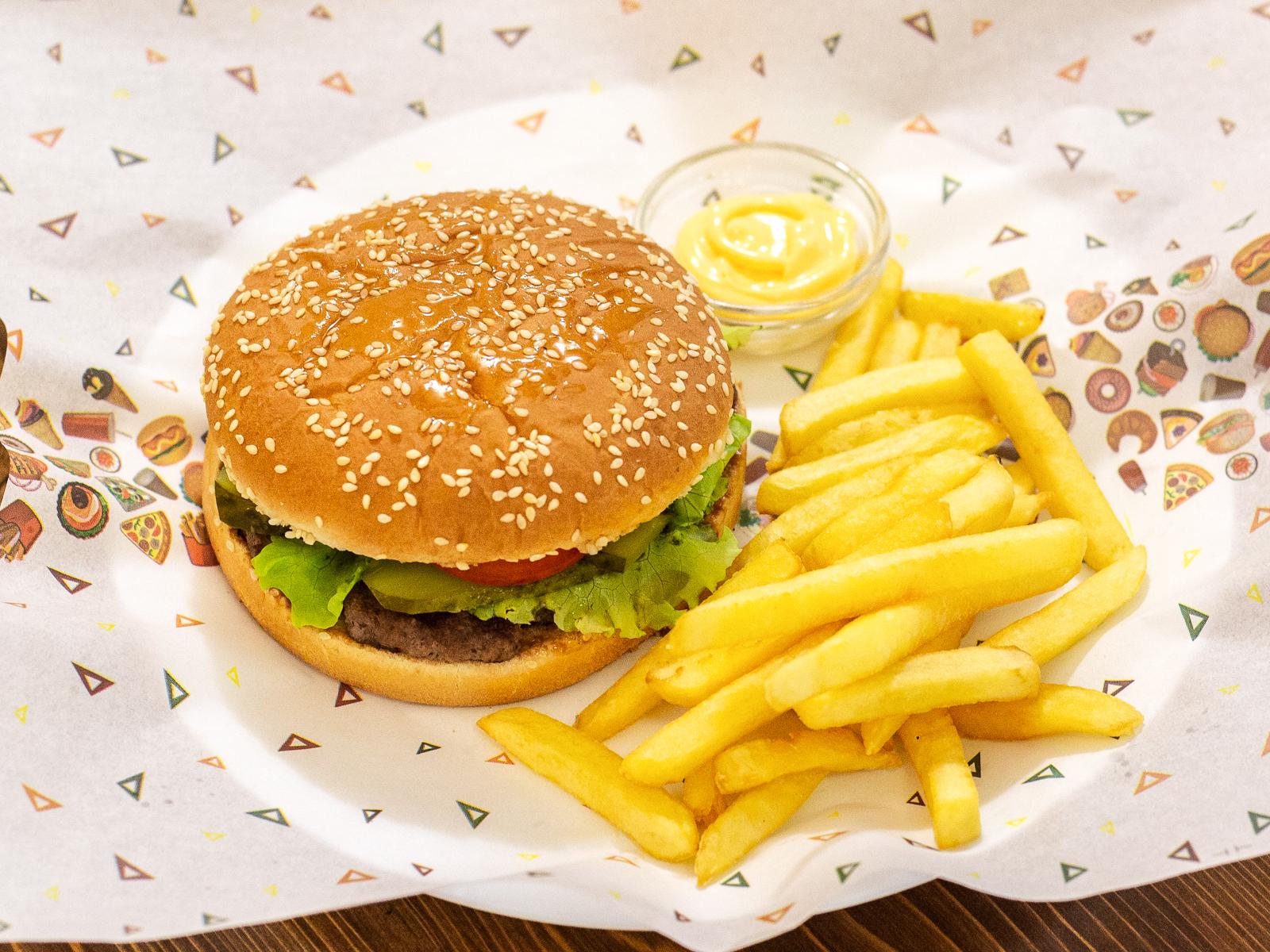 Шамси бургер