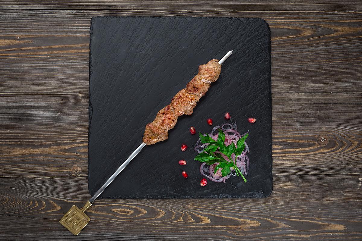 Шаш-кебаб из телятины