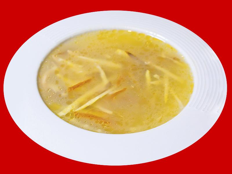 Суп из курицы с моллюском абалон