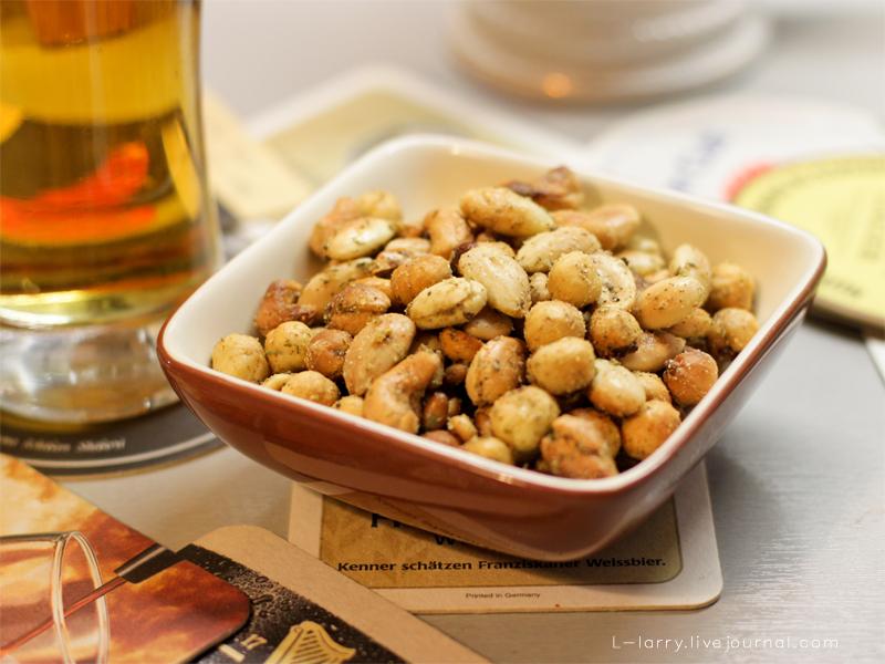 Орешки к пиву