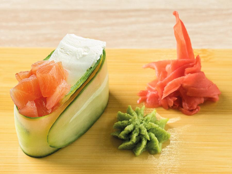 Каппа суши Копченый лосось и сыр