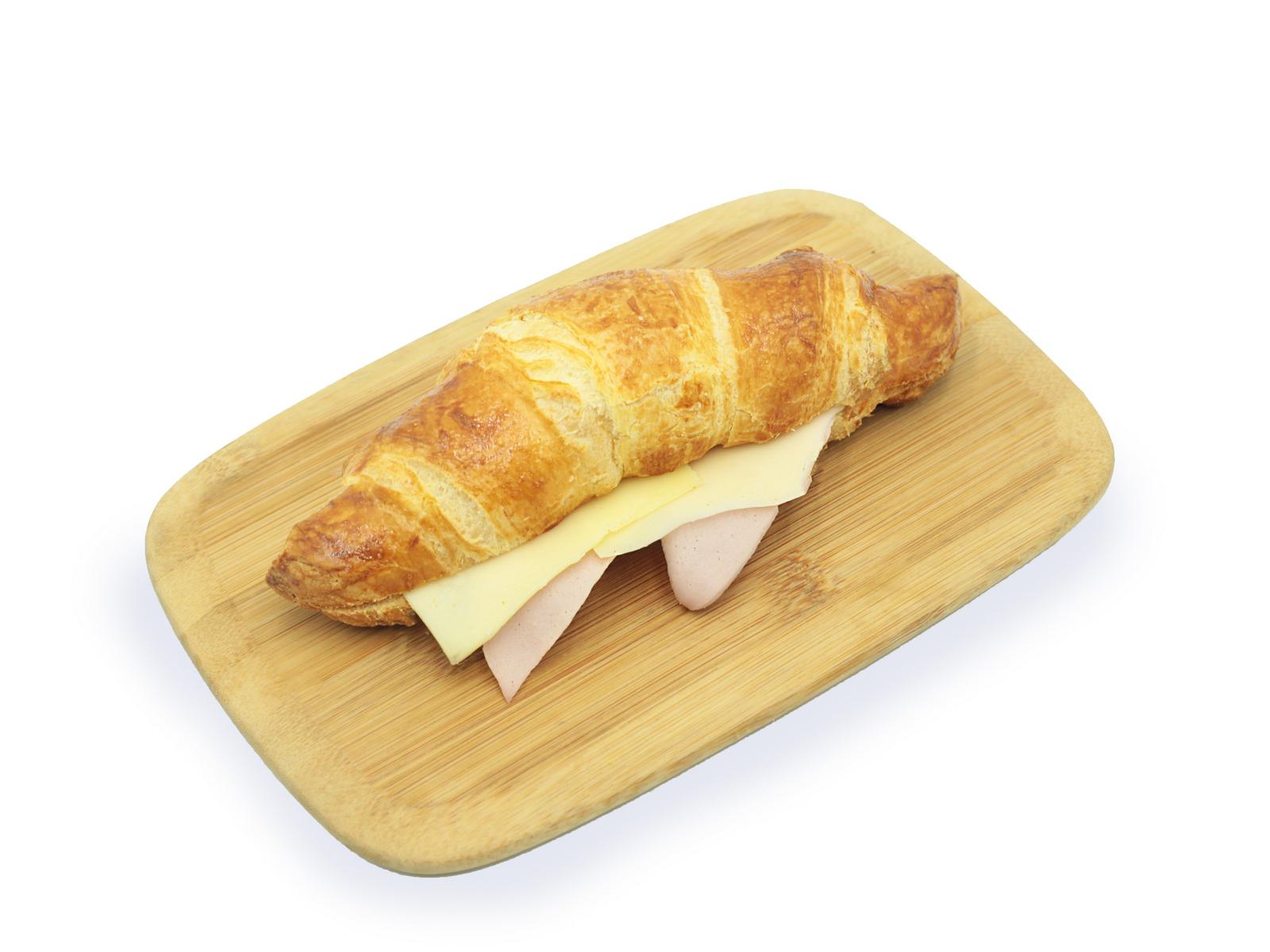Круассан с ветчиной и сыром