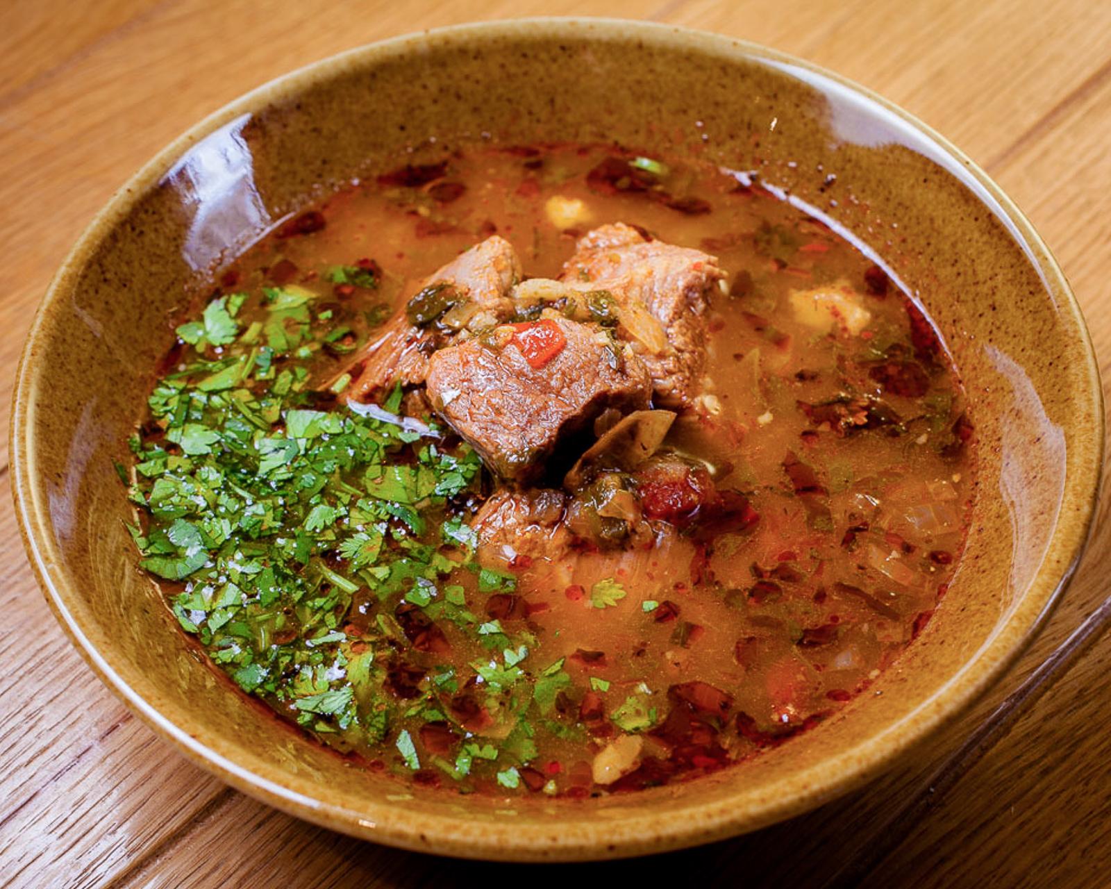 Суп-харчо из говядины