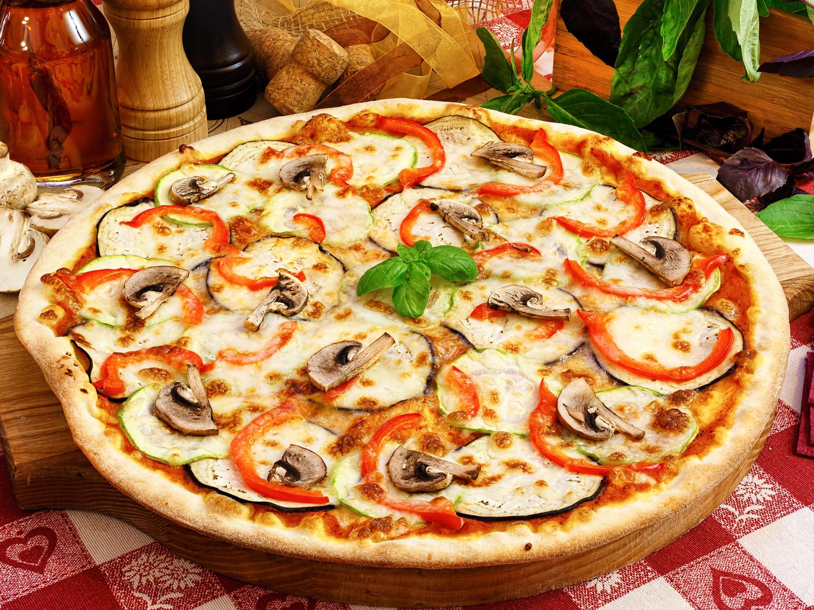Пицца Веджетарьяно