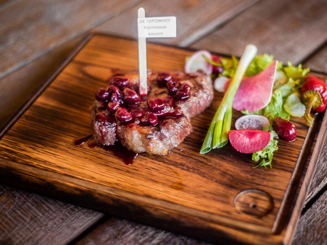 Ледис стейк  из мяса фермерских бычков