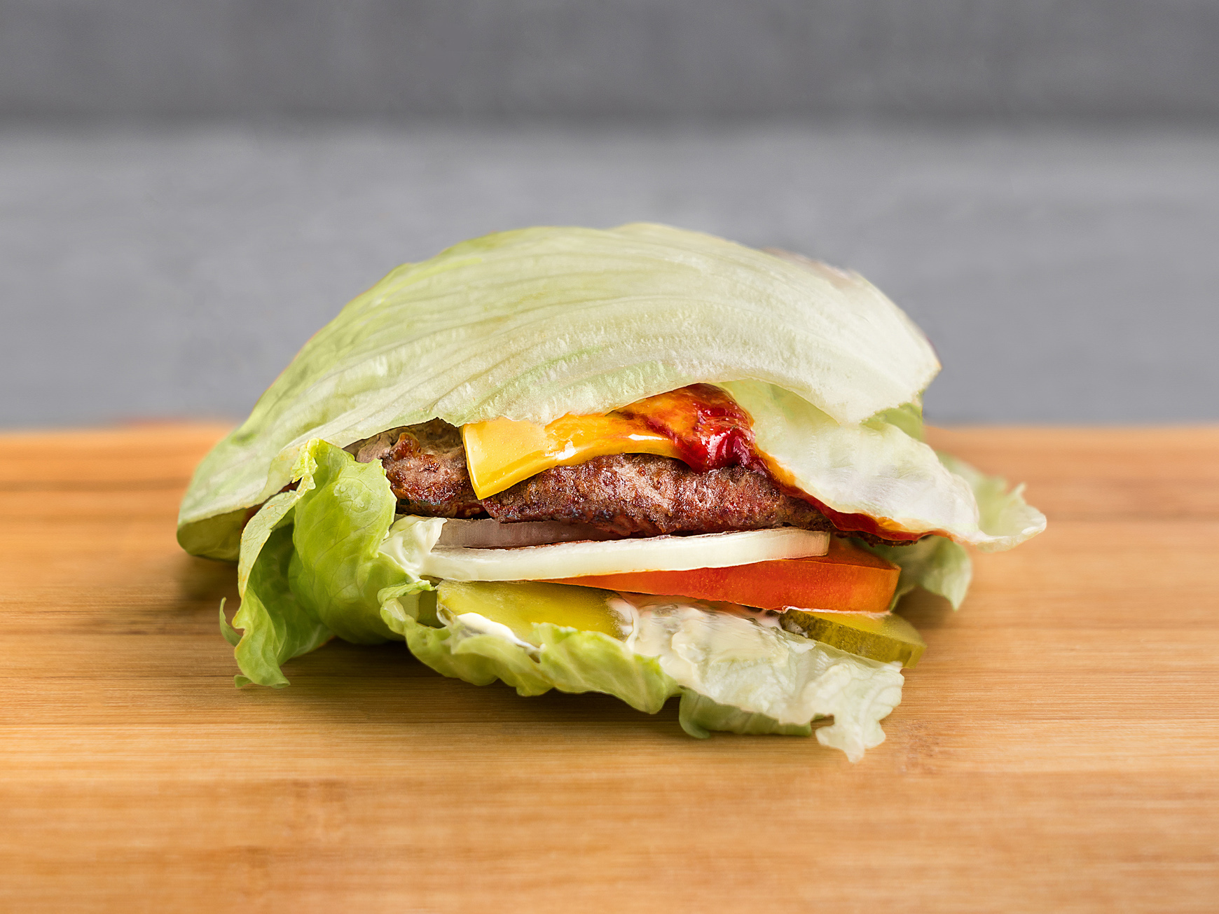 Лоу Карб Бургер с мясом