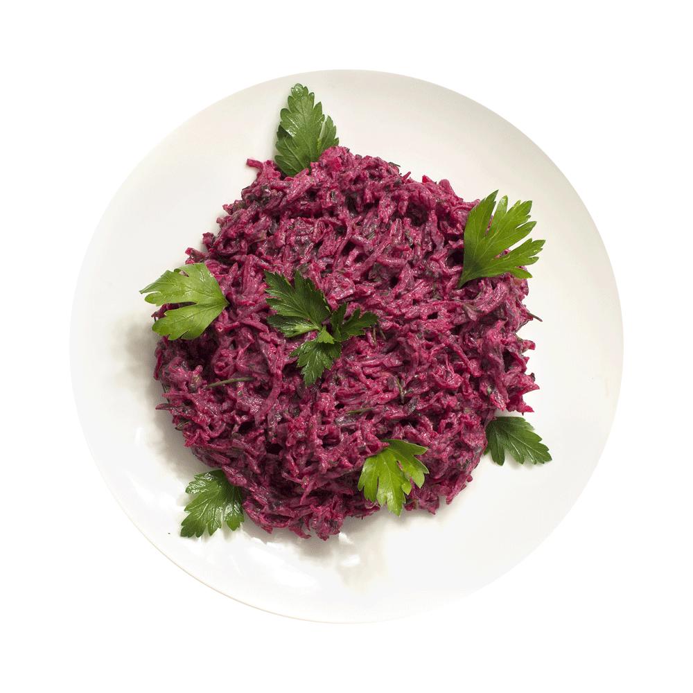 Салат из свеклы с укропом