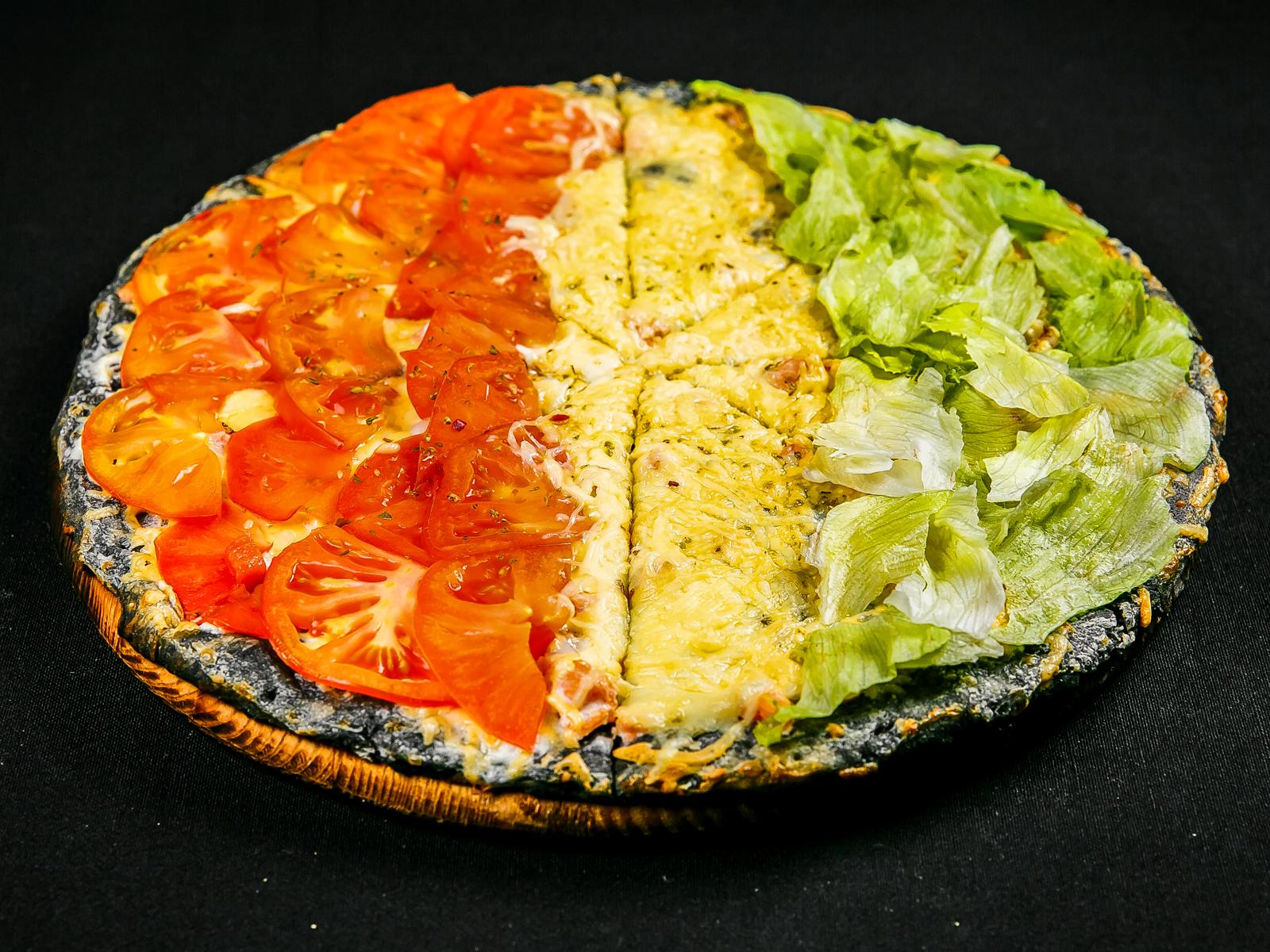 Черная пицца Милано