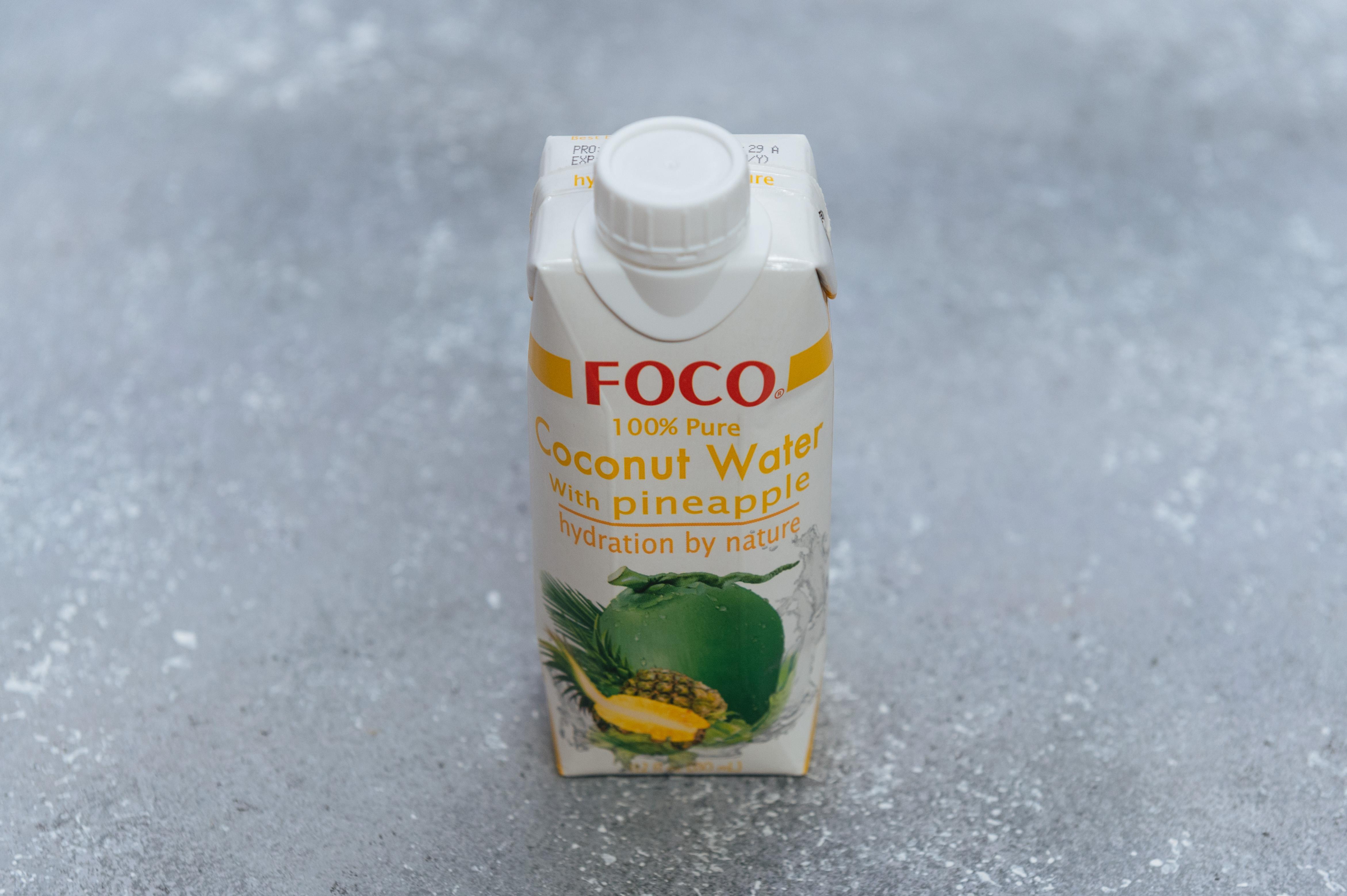 Кокосовая вода с ананасом