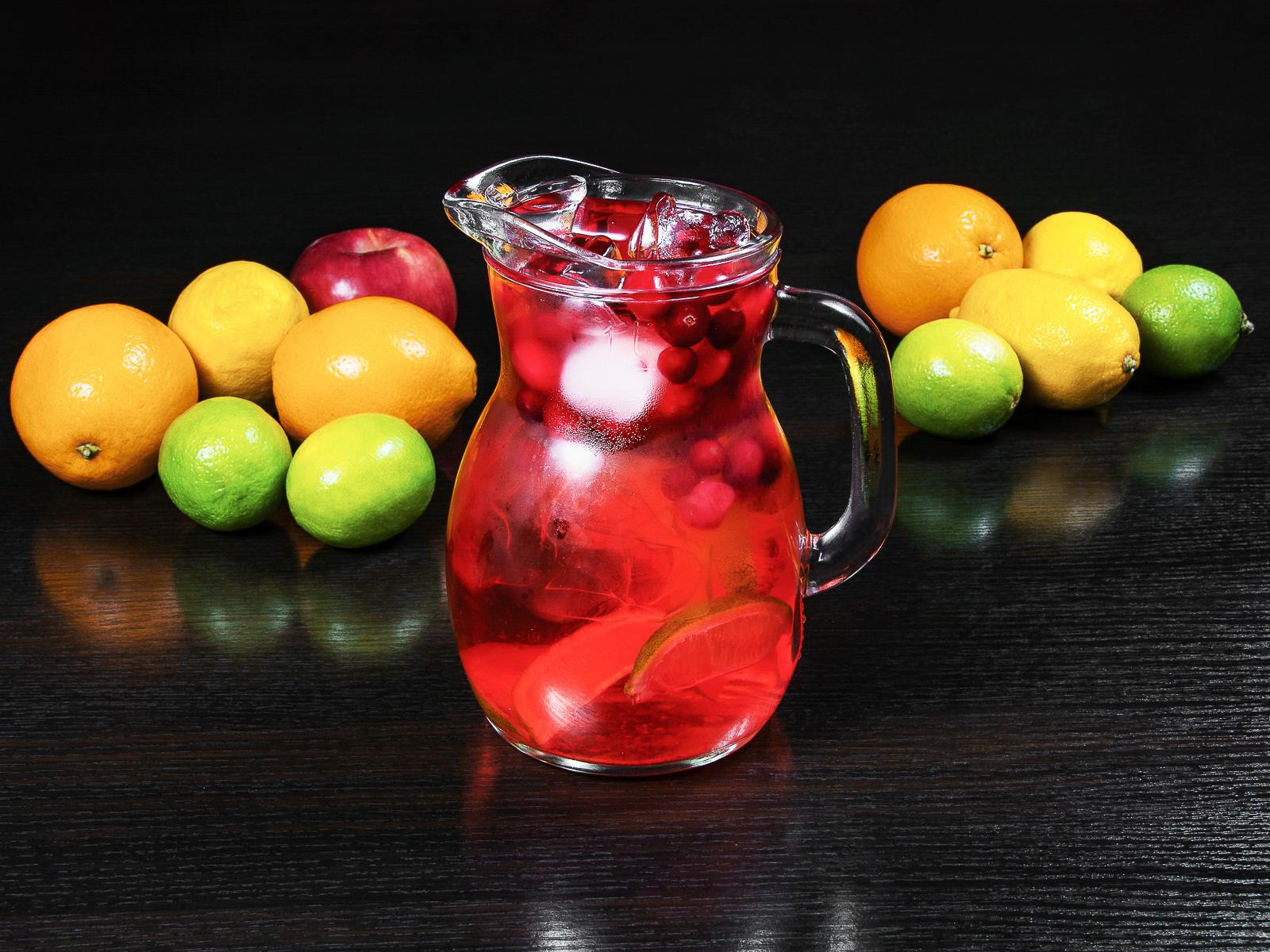 Лимонад Смородина с лаймом