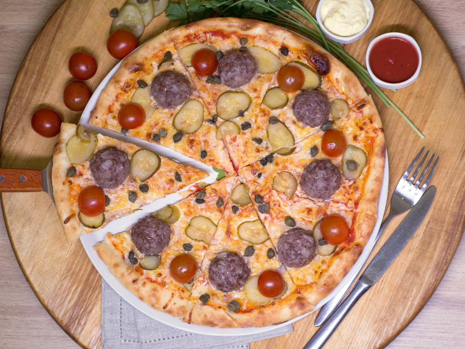 Пицца Дон Фрикадериччи