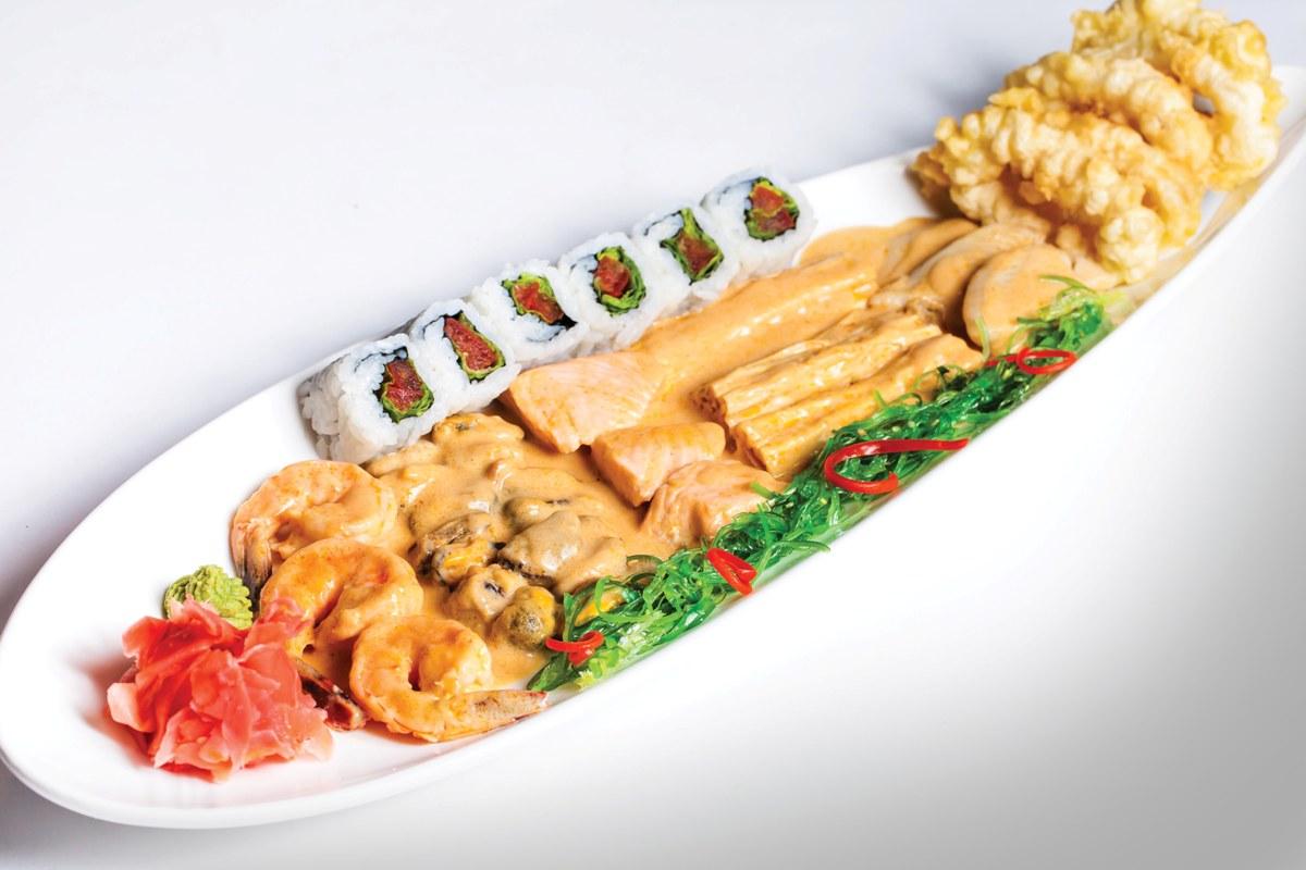 Азиатское Мули из морепродуктов