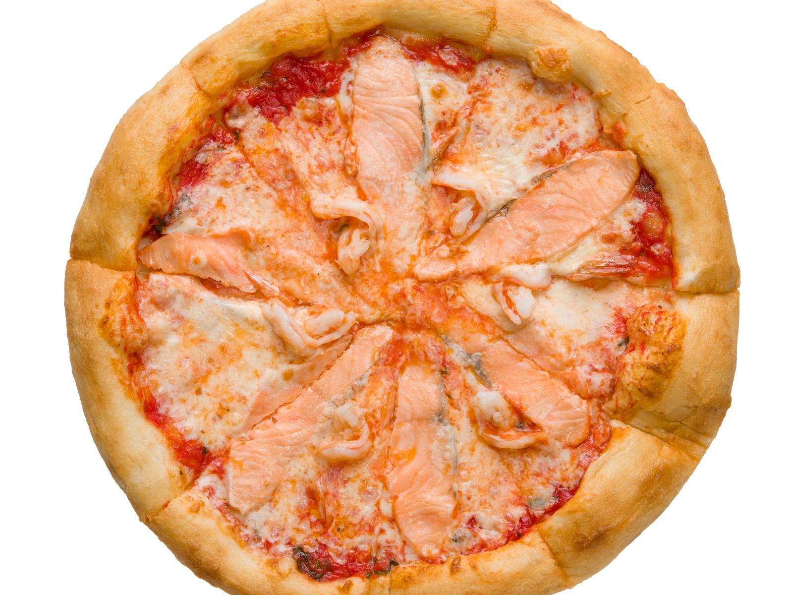 Пицца Сочная сёмга