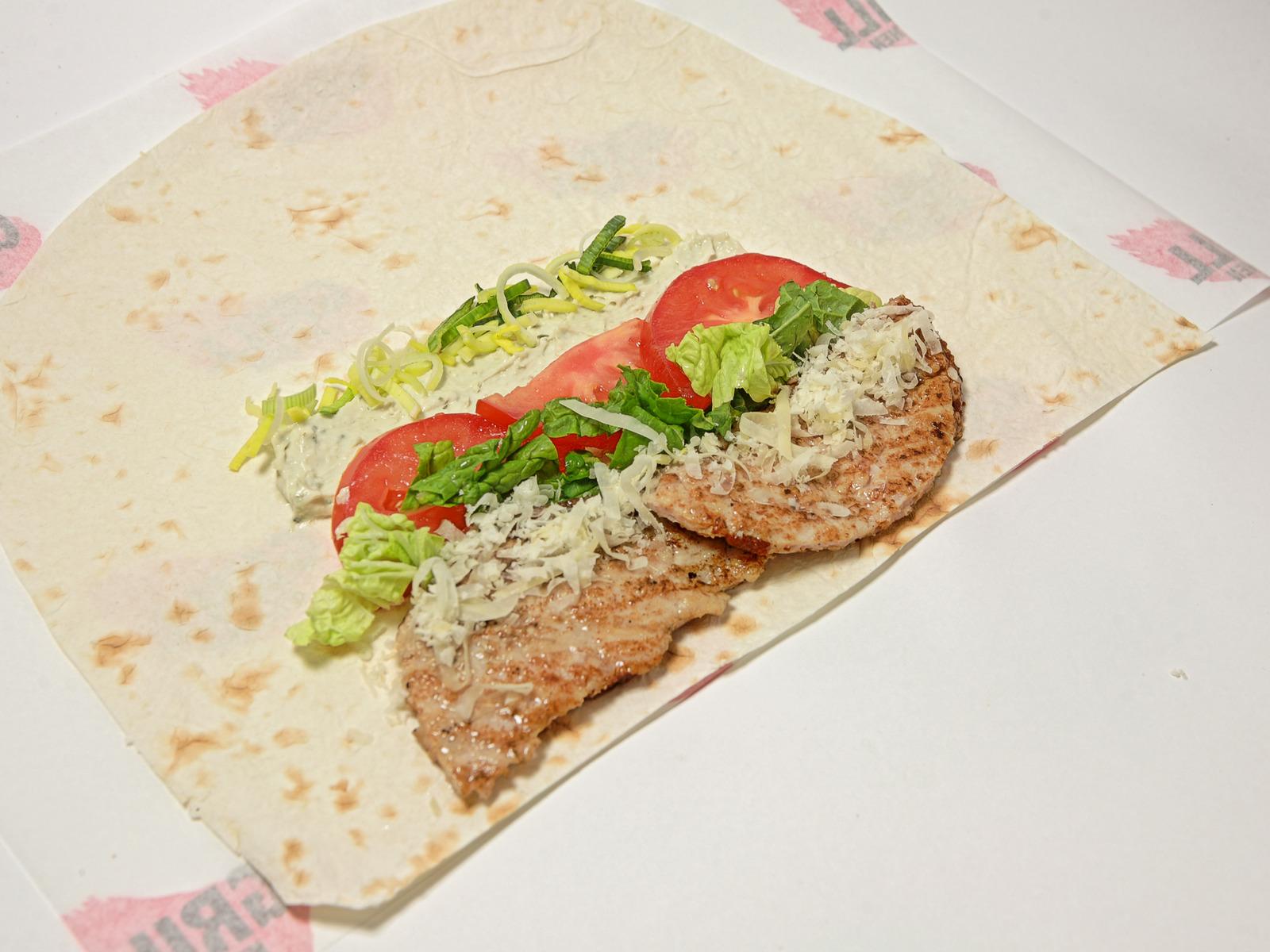 Сэндвич Цезарь Ролл