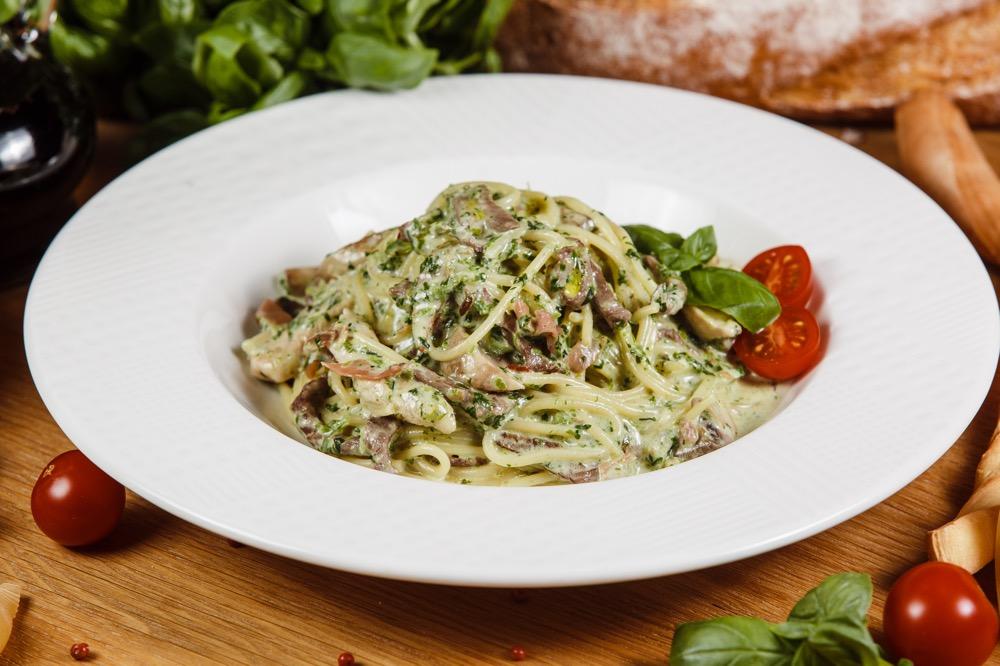 Спагетти с телятиной Винсенто