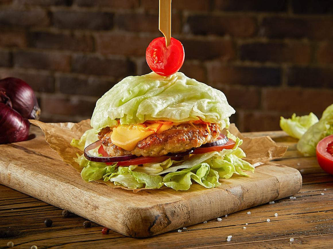 Бургер Фитнес с курицей