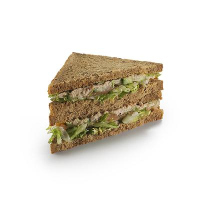 Датский сандвич с лососем