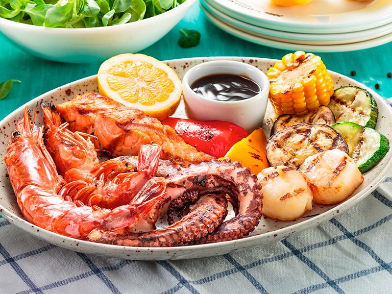 Ассорти из морепродуктов