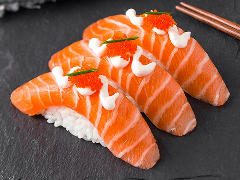 Суши сет Сливочный лосось