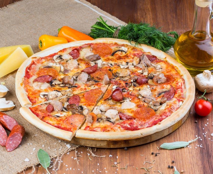 Пицца Мясная классическая