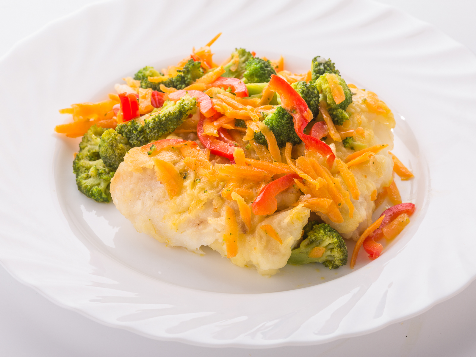 Рыба с овощами Аль-денте