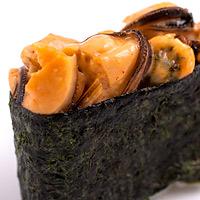 Суши острый с мидиями