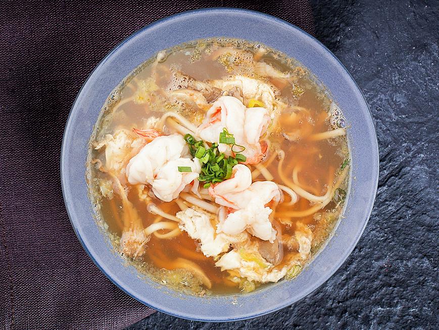 Суп Суимоно с креветками