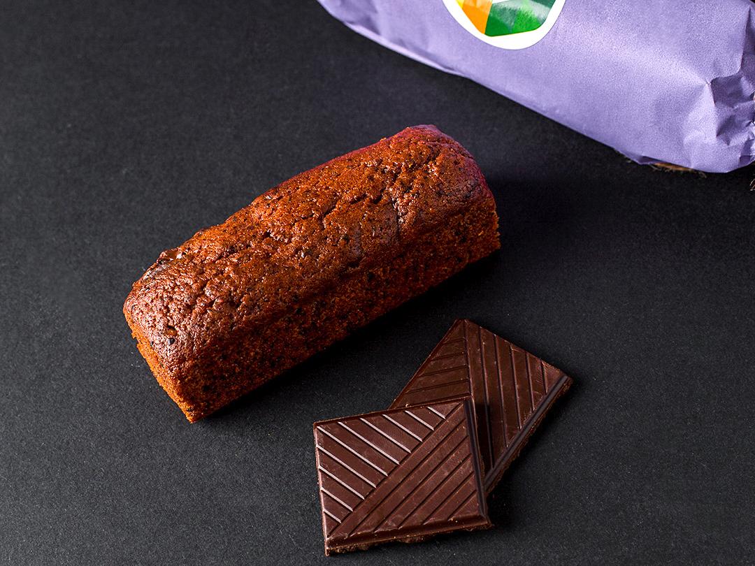 Черничный кейк с темным шоколадом