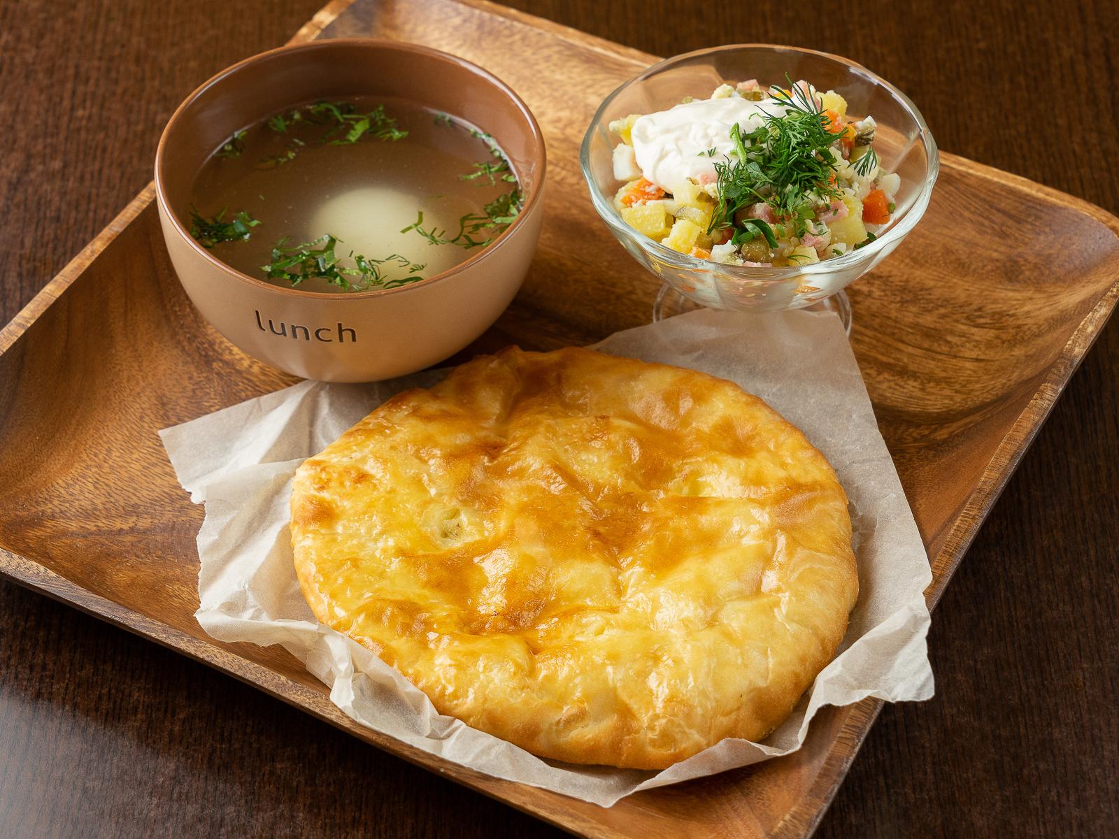Комбо-обед Знойный сосед