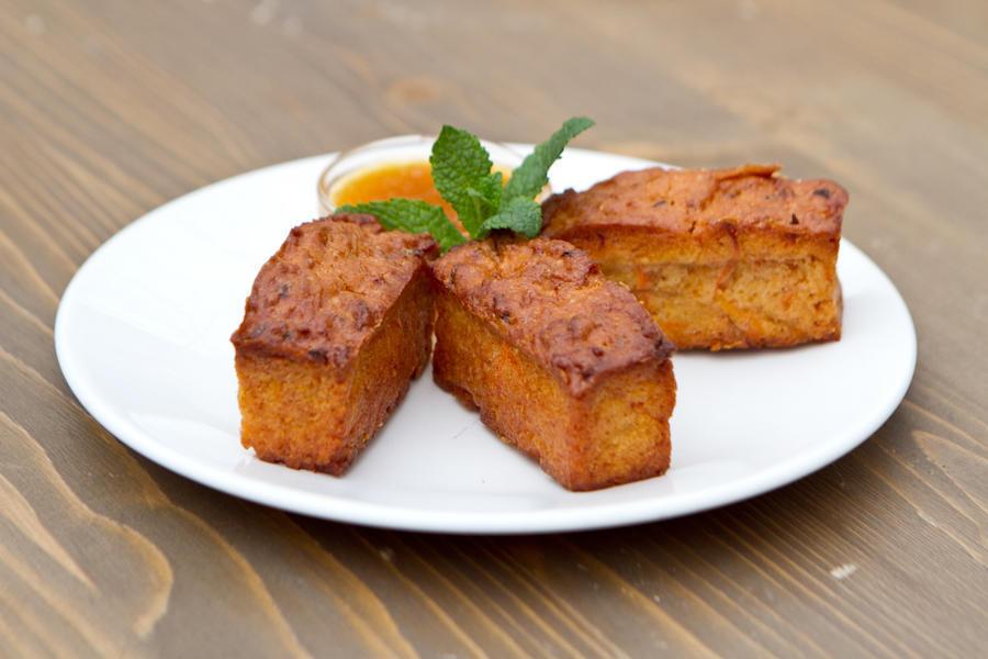 Морковно-яблочный кекс
