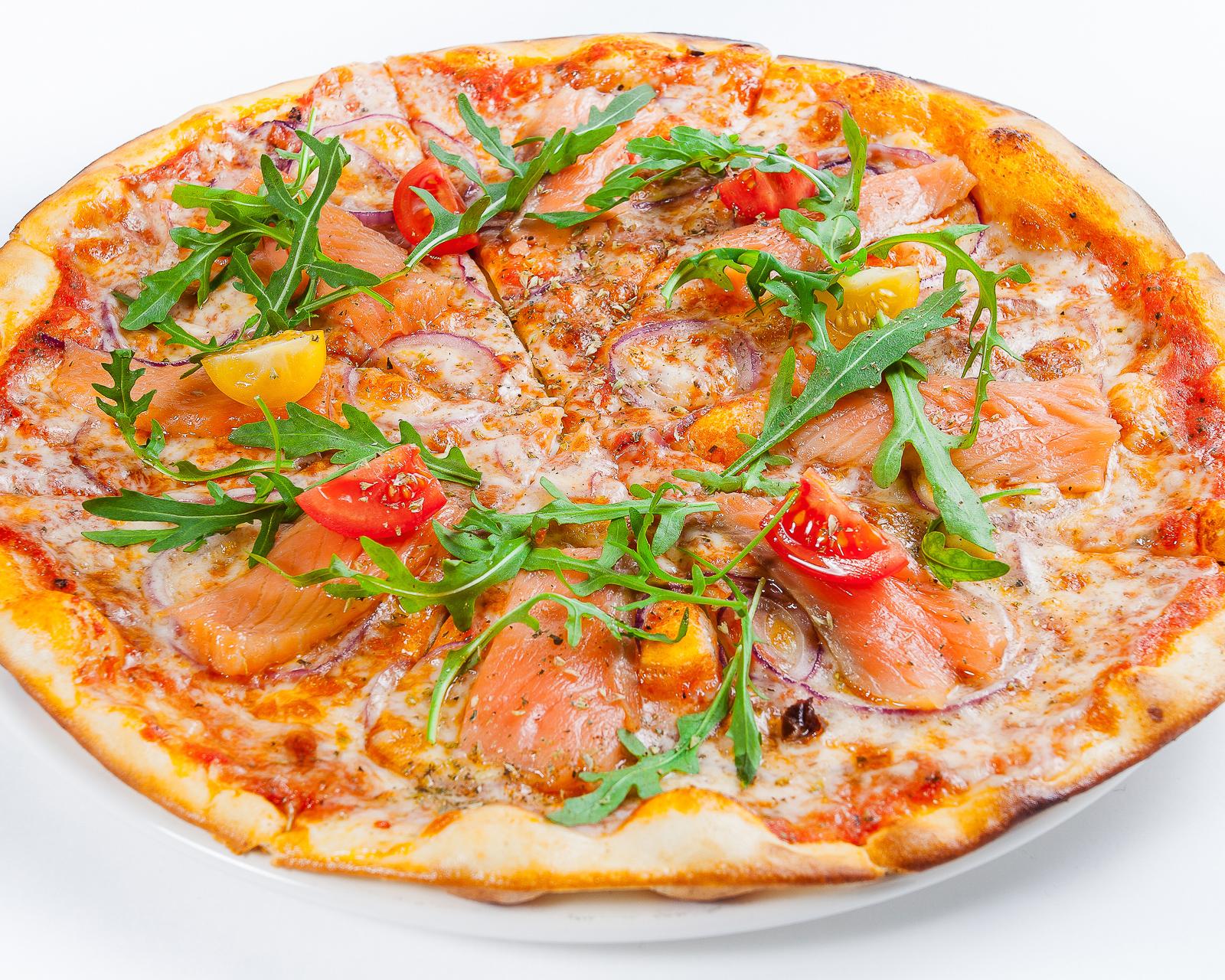 Пицца Дон Сальмон