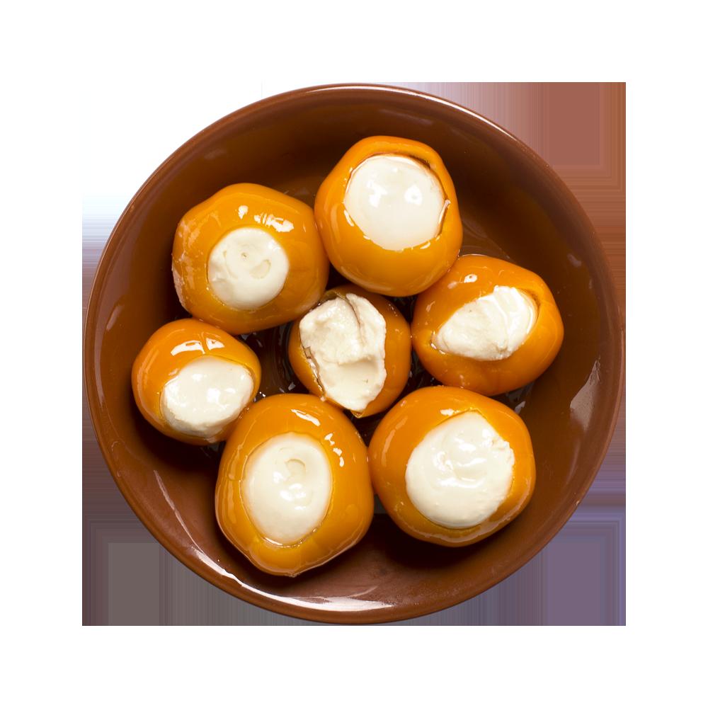 Золотой перчик со сливочным сыром PEPPADEW, Meggle, Сербия