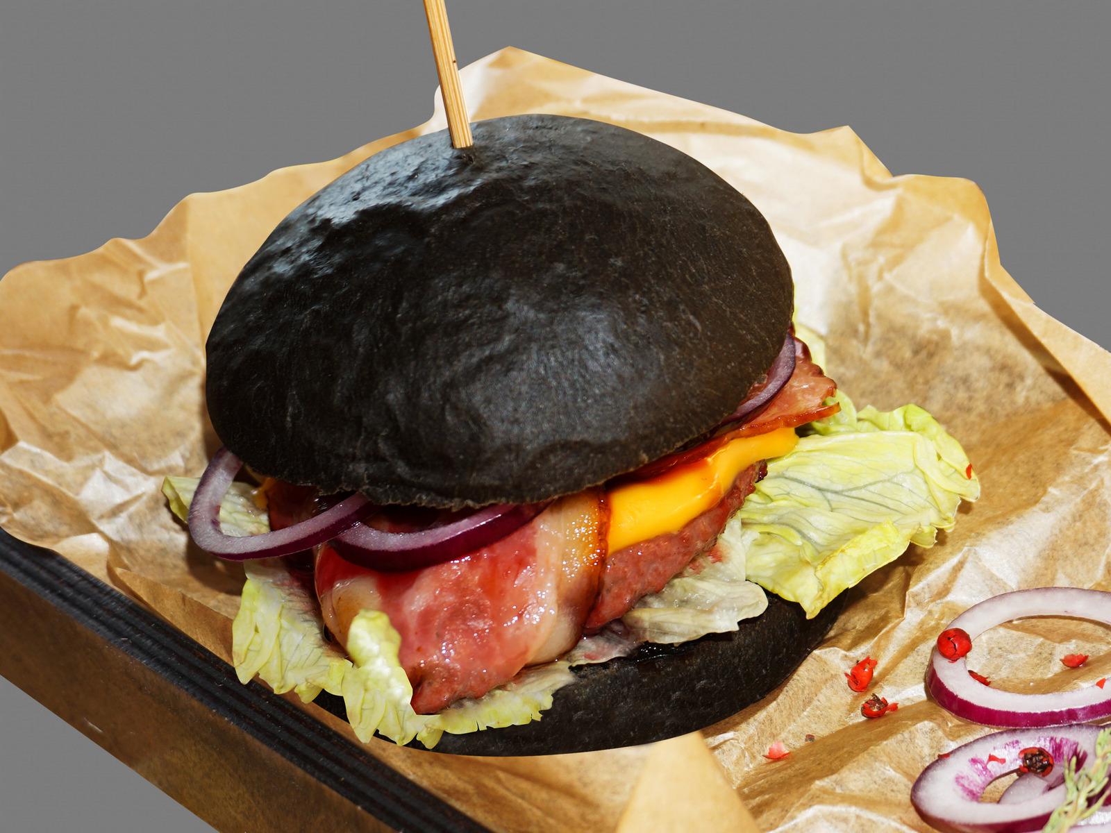 Бургер Черная мамба