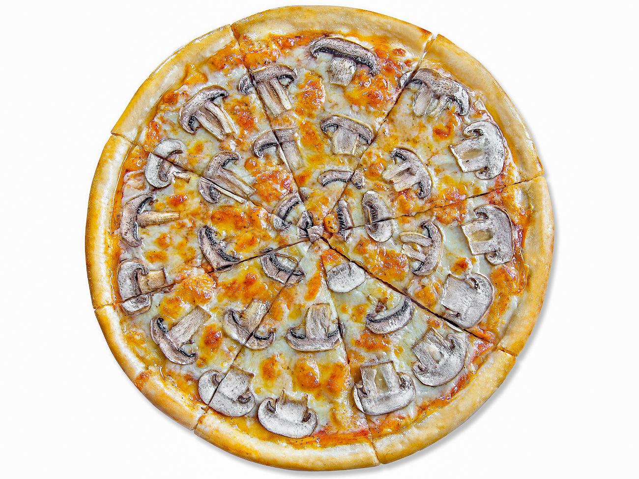 Пицца грибная 25 см