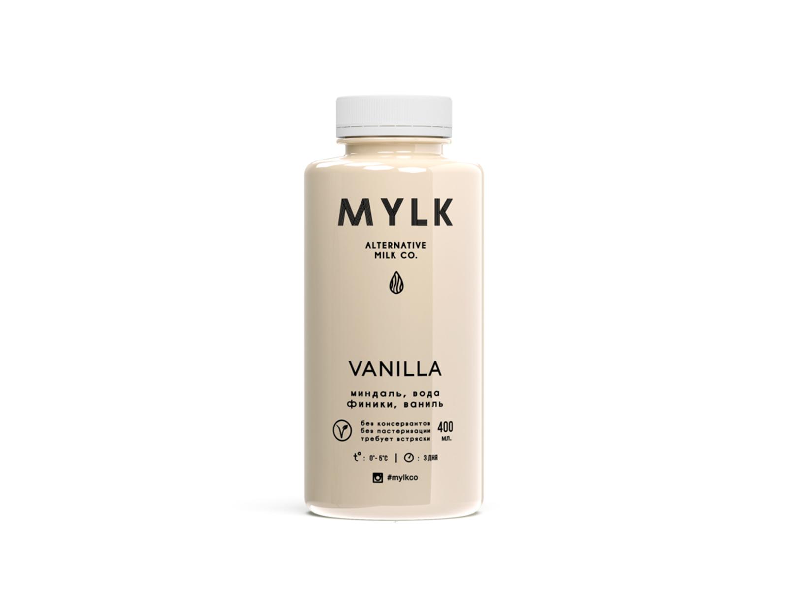 Миндальное молоко с бурбонской ванилью Vanila