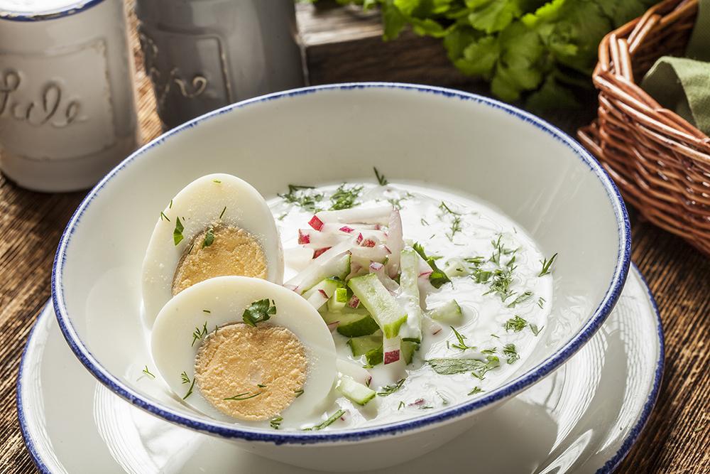 Холодный суп от бабушки Надэ